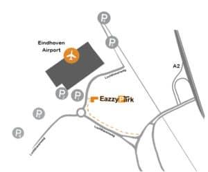Plattegrond Eindhoven Airport